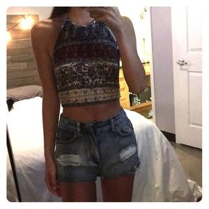 Urban Outfitters Ecoté Crop Top